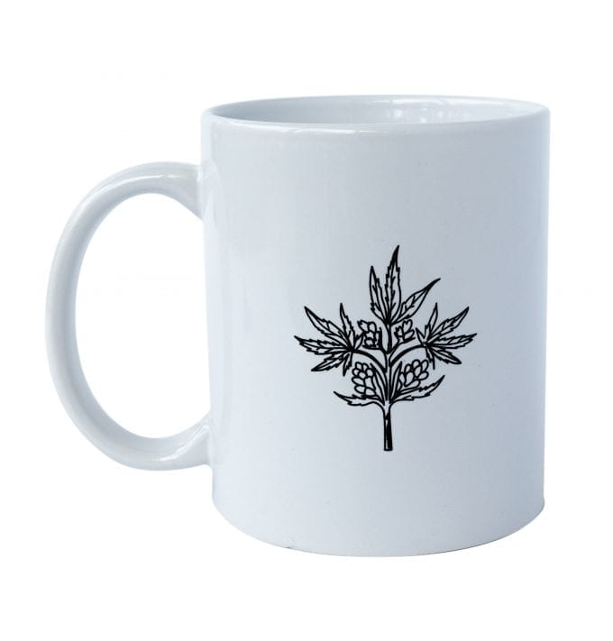 Kitchen Toke Coffee Mug Back