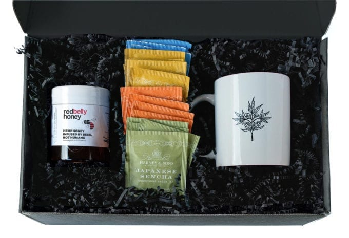 Red Belly Hemp Honey Gift Box