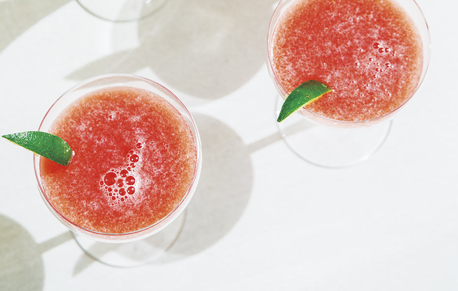 Honey Watermelon Mocktail with Red Belly Honey